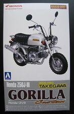Honda z50j-iii gorila Custom kit Aoshima escala 1:12 OVP nuevo