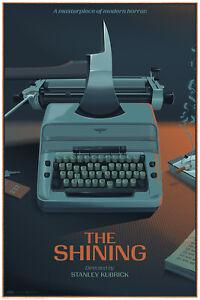 Laurent Durieux THE SHINING Typewriter Reg Mondo Poster Print Danny Horror Jaws