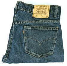 Levis 604 Mens W35 L32 Jeans Vintage Orange Tab Blue Denim Pants Australia Made