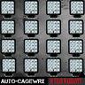 16PCS 48W LED WORK LIGHT FOG SPOT BEAM LAMP OFFROAD TRUCK 12V SUV UTE ATV