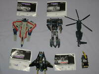 Lot Transformers 2007 BLACKOUT DECEPTICON STARSCREAM OVERCAST ARMORHIDE AUTOBOT