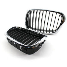 540i Front Kidney Grille for BMW E39 5 Series 99-03 Half Chrome