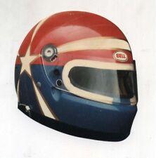 Adesivo Formula 1 CASCO Pilota automobilismo BELL sponsor sticker F1 anni 80