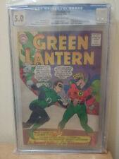 Green Lantern #40 CGC 5.0 1965 Origin Infinite Earths & The Guardians