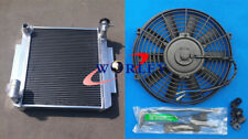 3 ROW Aluminum Radiator &FAN for TOYOTA CELICA GT TA22 / TA23 2T 1.6L MT 73-1978