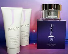 "1 x ""Jericho Premium INTENSIVE NIGHT CREAM"" + 2 x ""Jericho 100 gr HAND CREAMS""!"