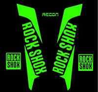 KIT PEGATINAS ADHESIVO VINILO ROCK SHOX RECON 2016-17 ROCKSHOX BICICLETA BTT