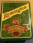 REMINGTON VINTAGE KLEANBORE 22 LONG RIFLE RIM FIRE AMMO BULLET TIN BOX 475 RND