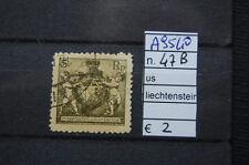FRANCOBOLLI LIECHTENSTEIN USATI N. 47B (A9540)