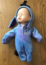 DISNEY CREATIVE DESIGNS EEYORE Costume on a Baby Doll 15""