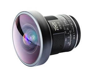 Brand new! Zenitar-C 8mm f/3.5 lens for Canon