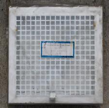 Upmann Ventilation - Lüftungsgitter Einbaurahmen  Stahlblech weiß 250 x 250