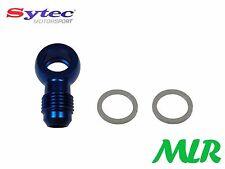 Sytec combustible de aleación Banjo GRAN 12mm 6jic Azul inyección CARBURADOR