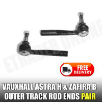 Vauxhall Astra H Track Rod Ends Inc ZAFIRA B Pair Outer End x 2 Steering New