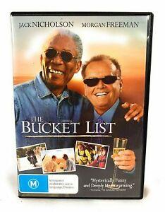 Bucket List DVD Comedy Drama - Jack Nicholson, Morgan Freeman Movie