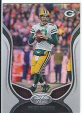 Aaron Rodgers Packers 2019 Certified Mirror Silver #70, serially #'d 442/450