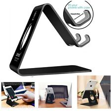Cell Phone Stand Cradle Holder Smartphone Storage Table Top Accessories Desk