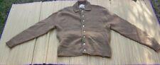 New listing Brentwood Sportswear Cardigan Sweater Light Brown Vintage 1960s/1970s Medium