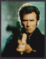 8x10 Photo~ Actor CLINT EASTWOOD ~Aiming magnum gun in Dirty Harry movies