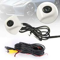 White 170° CMOS Waterproof Night Vision Car Rear View Backup Parking Camera GA