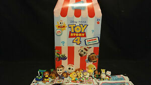 Toy Story 4 Minis Series 2 lind Bag Figures Complete Full Set of 12 & Display