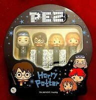 2020 LIMITED EDITION METAL TIN HARRY POTTER PEZ SET OF 4