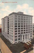 DAYTON OHIO N.C.R. OFFICE BUILDING POSTCARD 1910s