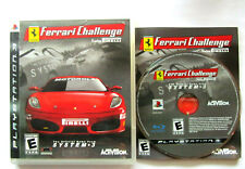 Ferrari Challenge: Trofeo Pirelli (Sony PlayStation 3, 2008) Complete and Tested