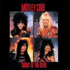 MOTLEY CRUE: Shout At The Devil (Bloodshot Colour Vinyl) VINYL LP