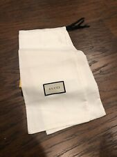 Gucci (2) White Shoe Dust Bags (6 1/2 X 17)