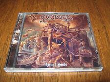 "AVULSED ""Ritual Zombi"" CD  entombed gorefest"