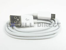 Wholesale Lot 100x 3ft White Micro USB Data Charger Charging Phone Tablet Cable
