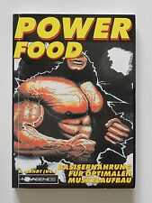 Power Food Basisernährung für optimalen Muskelaufbau