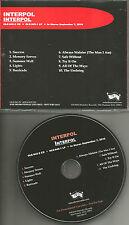 INTERPOL Self titled 2010 RARE ADVNCE PROMO DJ CD USA MINT OLE9452v