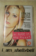 Sealed Lukas Moodysson's A HOLE IN MY HEART on DVD **Shocking & Controversial**