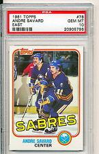 1981 Topps #78 Andre Savard PSA 10