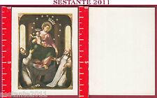 1766 SANTINO HOLY CARD IMMAGINE MADONNA MARIA DEL ROSARIO DI POMPEI