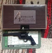 BIOHAZARD 4 Resident Evil PROMO Magnum in miniatura GHISA PISTOLA IN METALLO COLLEZIONE