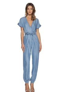 Sass Bide Fits Size 6- 8 Chambray Jumpsuit In Excellent Condition