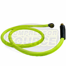 New Flexzilla 12 X 6 Ft Air Hose Whip With 12 Mnpt Swivel Hfz1206yw4s