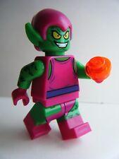 NEW LEGO MARVEL SUPERHEROES COMIC GREEN GOBLIN MINIFIGURE 76057 WEB WARRIORS