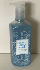NEW ARRIVAL! BATH & BODY WORKS CREAMY LUXE HAND SOAP - SUGARED LEMON ZEST