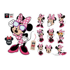 Disney Minnie Mouse Heart Removable Wall Stickers Decal Vinyl Art Decor B