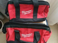 "Milwaukee Tool Bag x2 13""x7""x7""  M12"