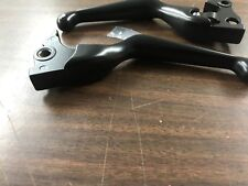 BLACK LEVERS FOR 2014 - 2018 HARLEY DAVIDSON SPORTSTER XL MODELS