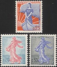 France 1960 semeur/MARIANNE/navire/bateau/voile/définitif 3 V (n45080)