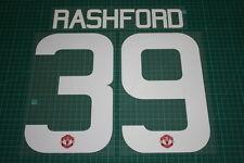 Manchester United 15/16 #39 RASHFORD UEFA Cup / FA Cup HomeKit Nameset Printing