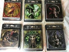 Anne Stokes Decorative Art Tile Bundle Lot Of Six New Gothic Mythical Tiles