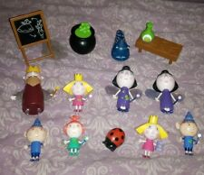Bundle Of Ben And Holly's Little Kingdom Figures And Accs, Magic Classroom etc
