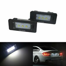 2X   Kennzeichenbeleuchtung Kennzeichen Leuchte XP-E Chip Kaltweiß für BMW